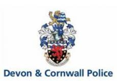 Devon and Cornwall Police Alert