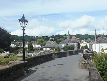 Photo Gallery Image - Over the ancient bridge at Lostwithiel