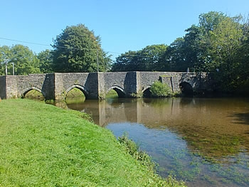 The ancient bridge at Lostwithiel