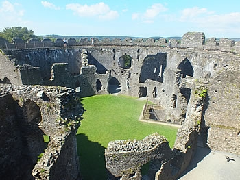 Photo Gallery Image - Restormel Castle Interior