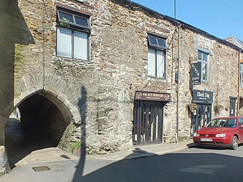 The ancient archway, Quay Street, Lostwithiel