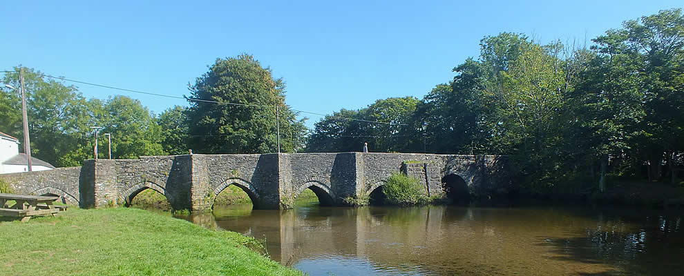 Ancient bridge at Lostwithiel