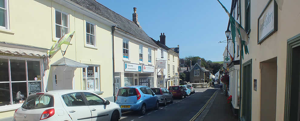 Around the town of Lostwithiel